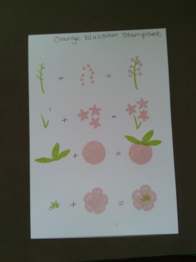Orange Blossom Crib sheet